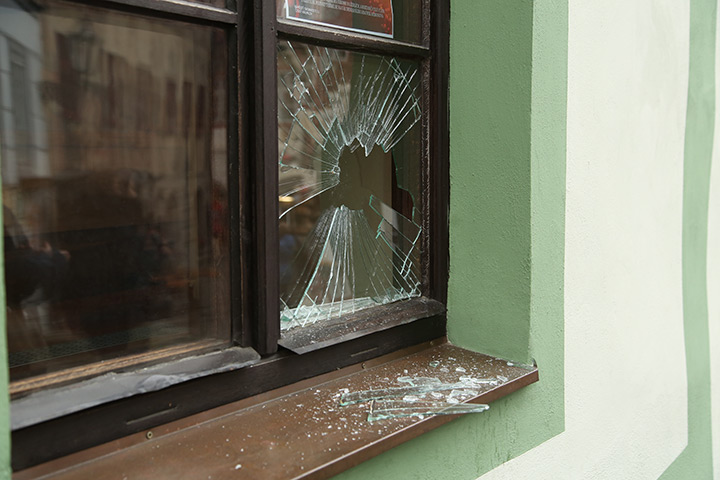 A2B Glass are able to board up broken windows while they are being repaired in Abbey Wood.
